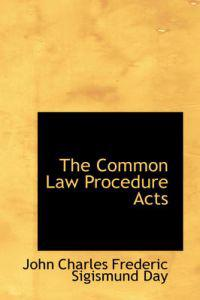 The Common Law Procedure Acts