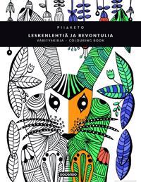 Leskenlehtiä ja revontulia -värityskirja