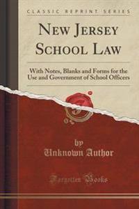 New Jersey School Law