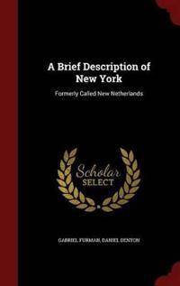 A Brief Description of New York