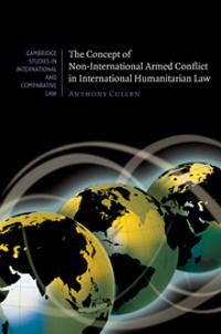 Concept of Non-International Armed Conflict in International Humanitarian Law