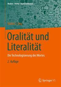Oralit t Und Literalit t