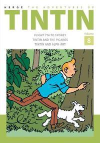 Adventures of tintin volume 8
