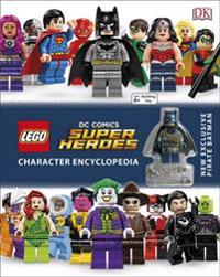 Lego dc super heroes character encyclopedia - with minifigure