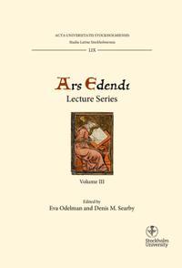 Ars edendi lecture series. Vol. 3