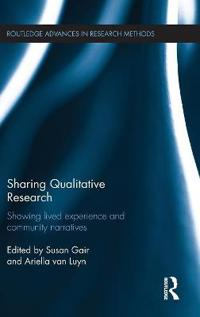 Sharing Qualitative Research