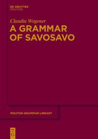 Grammar of Savosavo