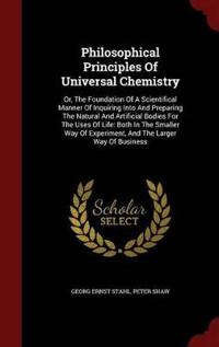 Philosophical Principles of Universal Chemistry