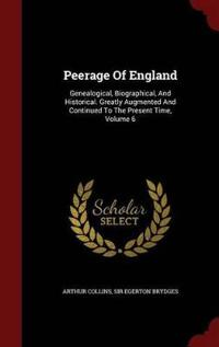 Peerage of England
