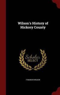 Wilson's History of Hickory County