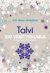 Anti-Stress värityskirja Talvi