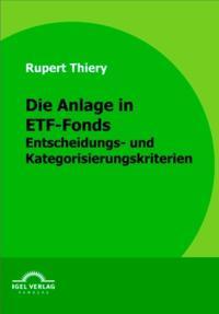 Die Anlage in ETF-Fonds