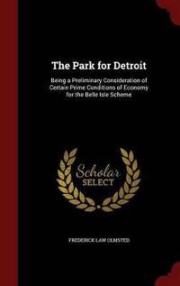 The Park for Detroit