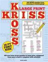 Large Print Kriss Kross Puzzles