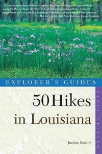 50 Hikes in Louisiana