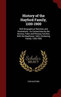 History of the Hayford Family, 1100-1900