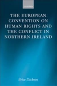 European Convention on Human Rights and the Conflict in Northern Ireland