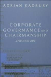 Corporate Governance and Chairmanship