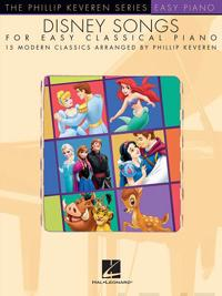 Disney Songs For Easy Classical Piano - Phillip Keveren Series