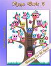 Mega Owls 2: Adult Colouring Book