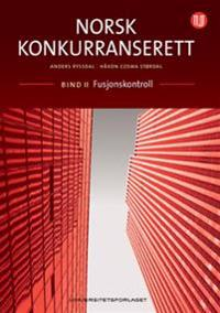 Norsk konkurranserett - Anders Ryssdal, Håkon Cosma Størdal   Inprintwriters.org