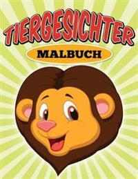 -Tiergesichter - Malbuch