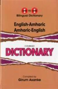 English-amharic & amharic-english one-to-one dictionary - script & roman