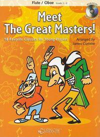 Meet the Great Masters!: 18 Favorite Classics for Young Players [With CD (Audio)]