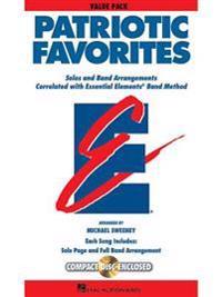 Patriotic Favorites: Value Pak (37 Part Books, Conductor Score & CD)