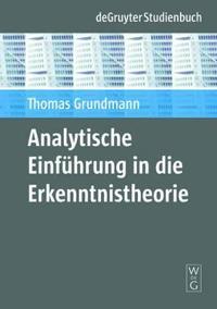 Analytische Einfuhrung in die Erkenntnistheorie