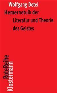 Hermeneutik Der Literatur Und Theorie Des Geistes: Exemplarische Interpretationen Poetischer Texte