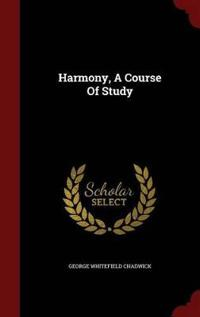 Harmony, a Course of Study