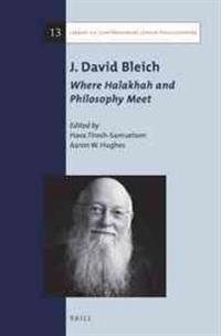 J. David Bleich: Where Halakhah and Philosophy Meet