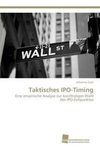 Taktisches IPO-Timing