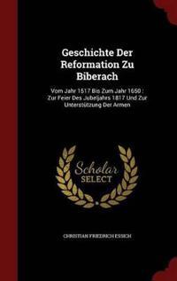 Geschichte Der Reformation Zu Biberach