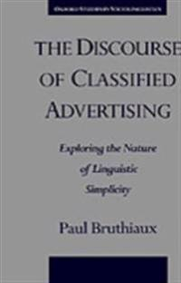 Discourse of Classified Advertising