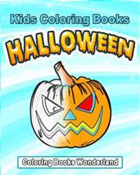 Kids Coloring Books - Halloween