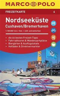 MARCO POLO Freizeitkarte 06 Nordseeküste, Cuxhaven 1:110 000
