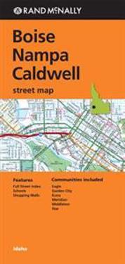 Folded Map Boise/Nampa/Caldwell Id Street