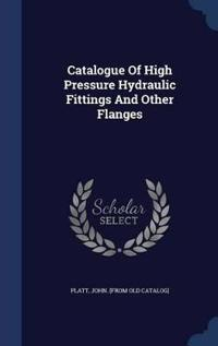 Catalogue of High Pressure Hydraulic Fittings and Other Flanges