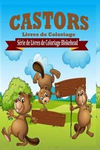 Castors Livres de Coloriage