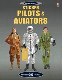 Sticker Dressing Pilots and Aviators