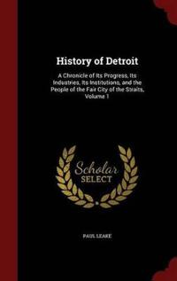 History of Detroit