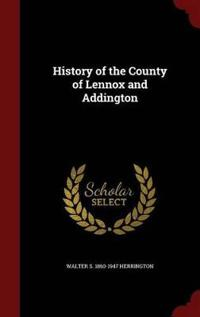 History of the County of Lennox and Addington