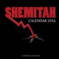 Shemitah Calendar 2016: 16 Month Calendar