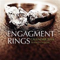 Engagement Rings Calendar 2016: 16 Month Calendar