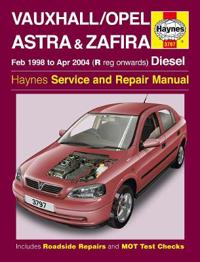 Vauxhall Opel Astra & Zafira Service and Repair Manual