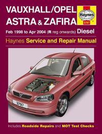 Vauxhall Opel Astra & Zafira Service and Repair Manual