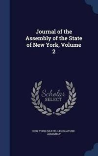 Journal of the Assembly of the State of New York; Volume 2