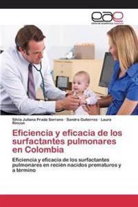 Eficiencia y Eficacia de Los Surfactantes Pulmonares En Colombia